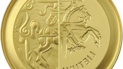 Valdovų rūmų muziejaus Valdovų lobyne – pirmosios lietuviškos kolekcinės eurų monetos pristatymas