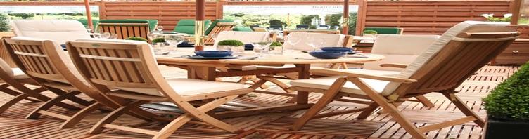 Medinių baldų gamyba užsiimančios įmonės rūpinasi ir lauko baldais