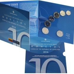 Lietuvos įstojimo į Europos Sąjungą ir NATO 10-mečiui atminti – naujasis apyvartinių monetų rinkinys