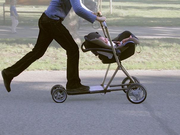 vežimėlis paspirtukas