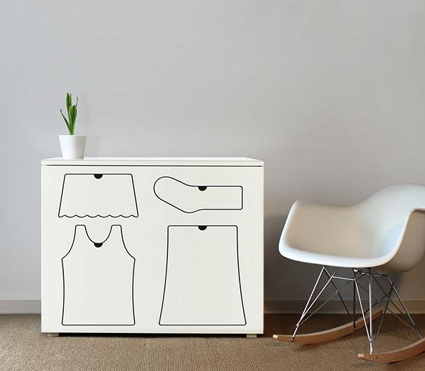 inotyvi drabužių spintą