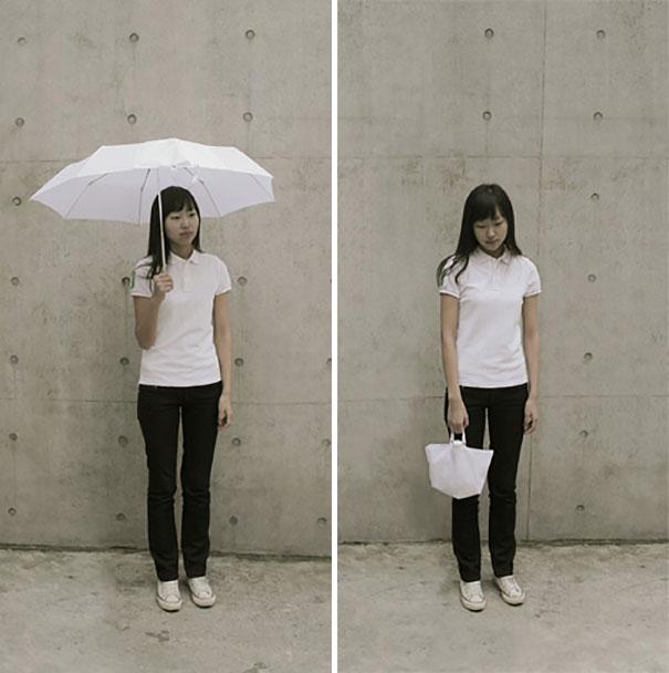 skėtis rankinukas