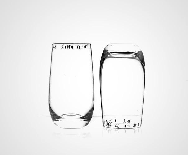 stiklinių įdėjos
