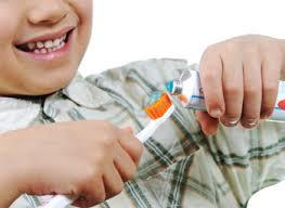 vaikų dantų priežiūra